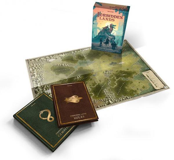Forbidden Lands RPG: Core Boxed Set
