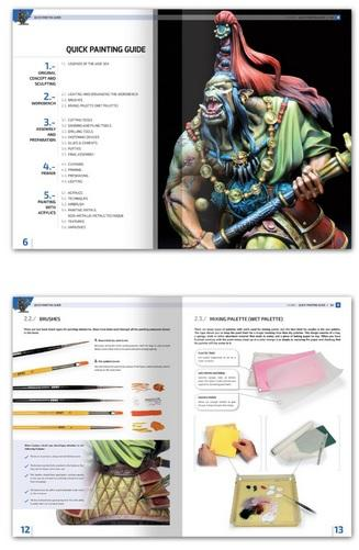 AMMO: Encyclopedia of Figures - Modelling Techniques Vol. 0 Quick Guide for Painting