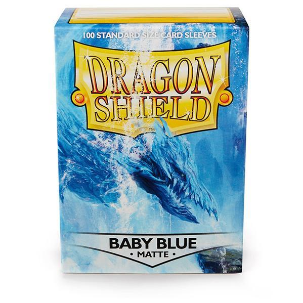 Dragon Shields: Matte Baby Blue Sleeves (100)