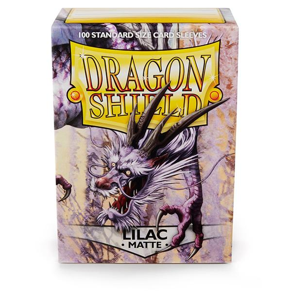 Dragon Shields: Matte Lilac Sleeves (100)