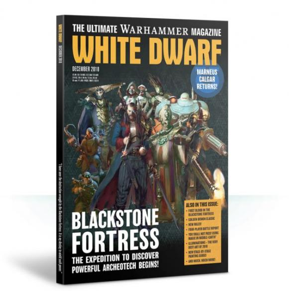 White Dwarf Magazine [DEC 2018]