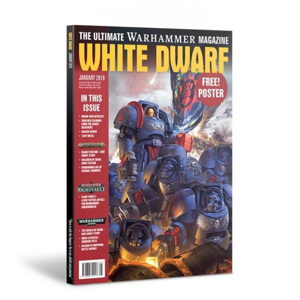 White Dwarf Magazine [JAN 2019]