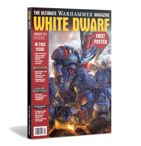 White Dwarf Magazine FEB 2019
