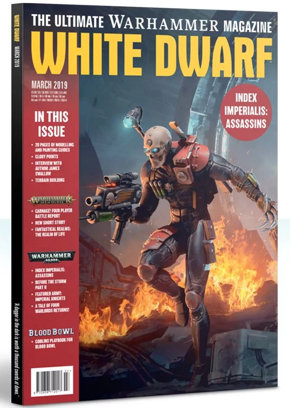 White Dwarf Magazine [MAR 2019]