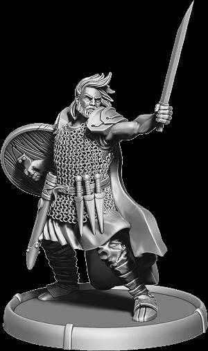 Darklands: Warrior Garric, Cant Thain