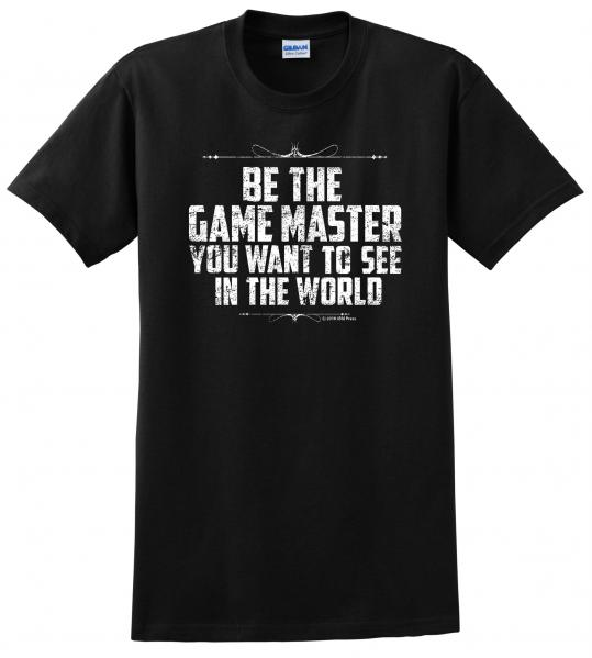 Gamer Shirts: Be The Game Master (Medium)