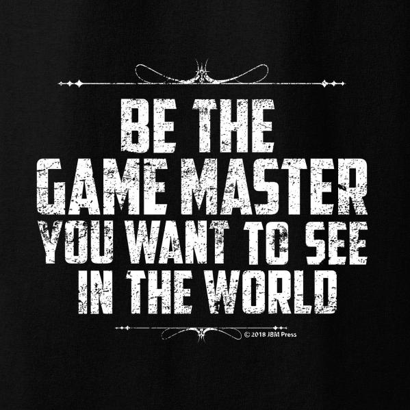 Gamer Shirts: Be The Game Master (Large)