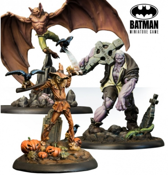 Batman Miniature Game: Terror in Gotham Boxed Set