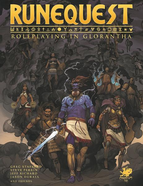 RuneQuest RPG: Roleplaying in Glorantha Core Rulebook