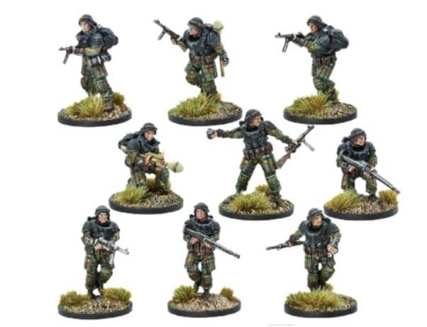 Bolt Action (Konflikt '47) Italian Falco Paratroopers