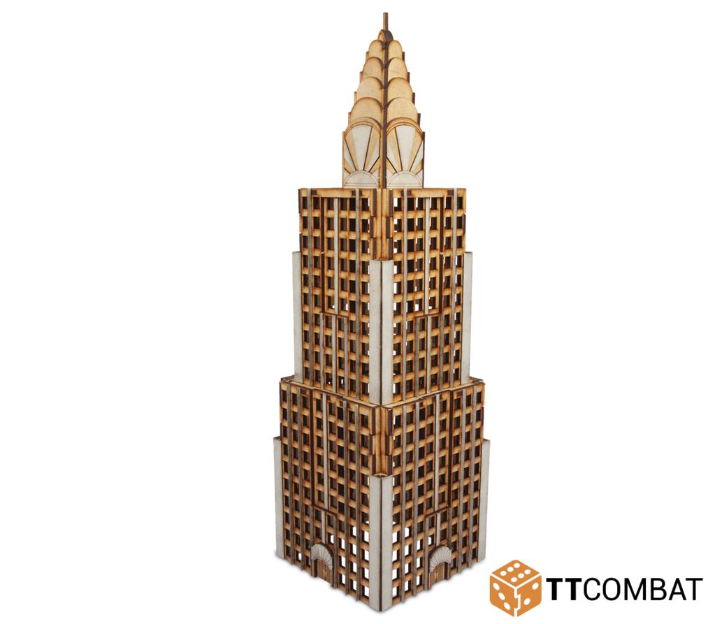 10mm Terrain: Sci-fi Scenics - Chrysar Building
