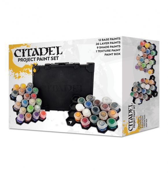Citadel Base Paints: Citadel Ultimate Project Paint Set