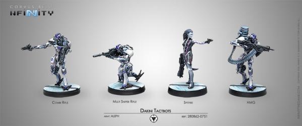 Infinity (#751) ALEPH: Dakini Tacbots (4)