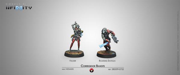 Infinity (#752) Nomads: Corregidor Bandits (2)