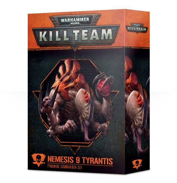 Warhammer 40K: Commander - Nemesis 9 Tyrantis [KILL TEAM]