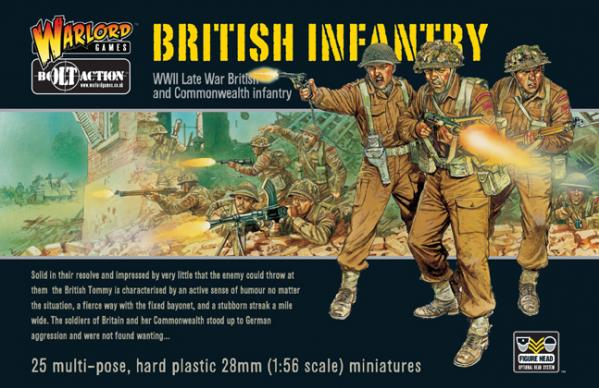 Bolt Action - British: Infantry Boxed Set