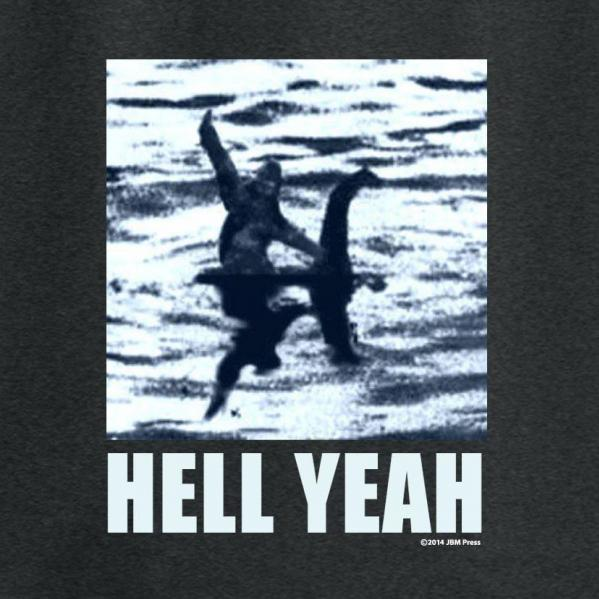 Gamer Shirts: Hell Yeah (Large)