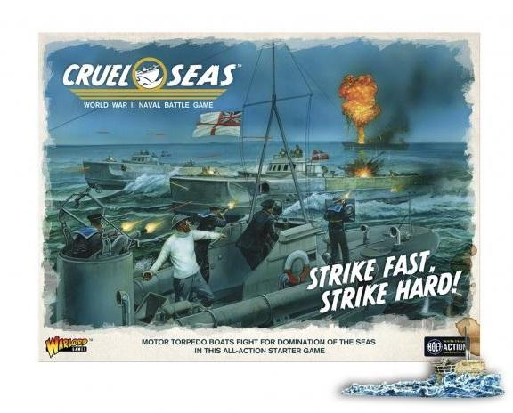 Cruel Seas Starter Set - Strike Fast, Strike Hard!