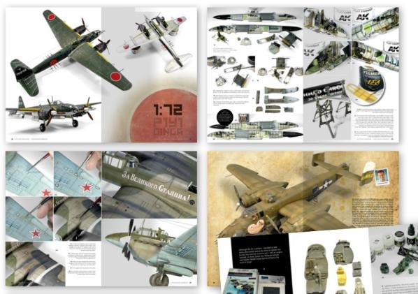 AK-Interactive: Aces High Magazine Issue 14 Twin Engine Warriors