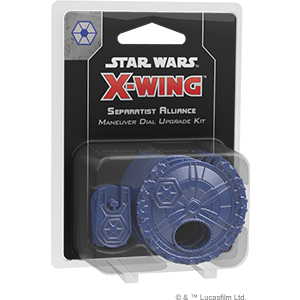 X-Wing 2.0: Separatist Alliance Maneuver Dial Upgrade Kit