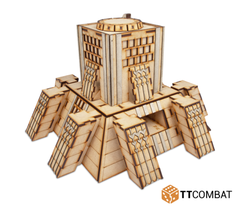 10mm Terrain: Sci-fi Scenics - Tyrosus Building