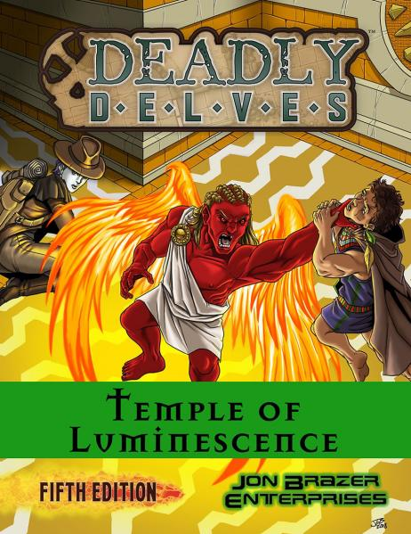 D&D 5th Edition RPG: Deadly Delves - Temple of Luminescence (5E 15-18lvl Adventure)