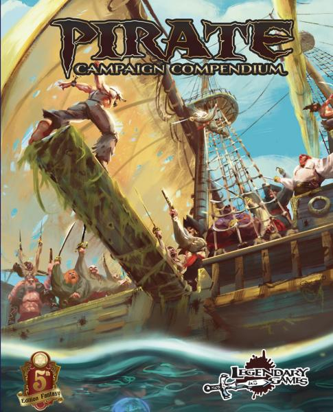 D&D 5th Edition RPG: Pirate Campaign Compendium (5E)