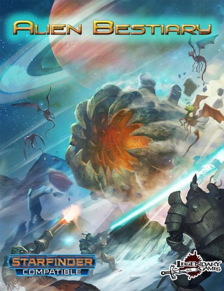 Starfinder RPG: Alien Bestiary