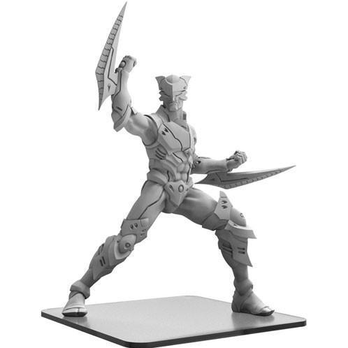 Monsterpocalypse: Zor-Raiden - Shadow Syndicate Monster (metal/resin)