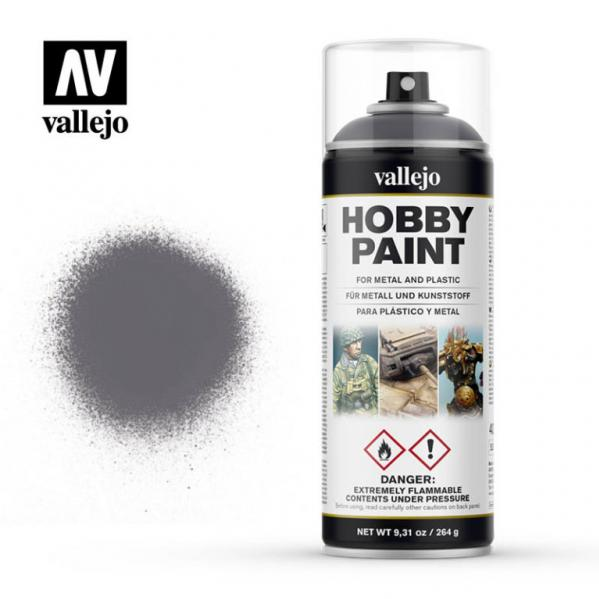 Vallejo: Gunmetal Spray Primer (400ml Can)