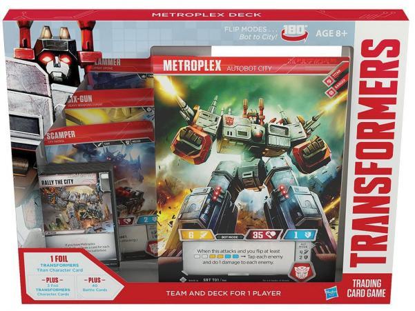 Transformers TCG: Metroplex Deck (1)