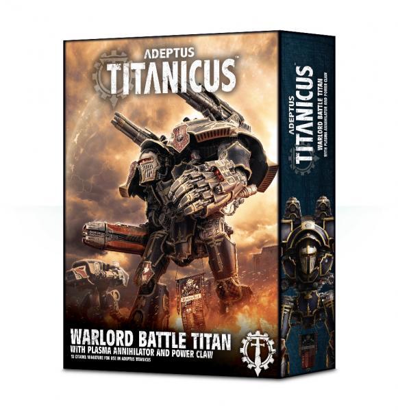WH40K: Adeptus Titanicus Warlord Titan with Plasma Annihilator