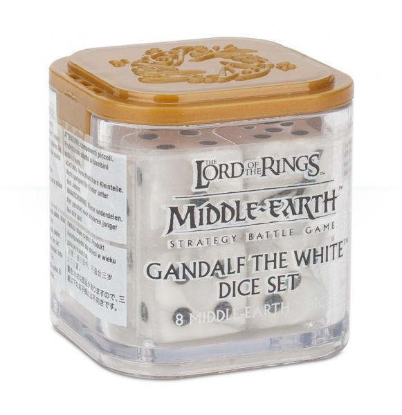 Lord of the Rings: Gandalf the White Dice Set