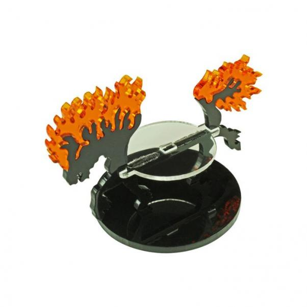 Flight Stands: Nightmare Steed Character Mount with 50mm Circular Base (1)
