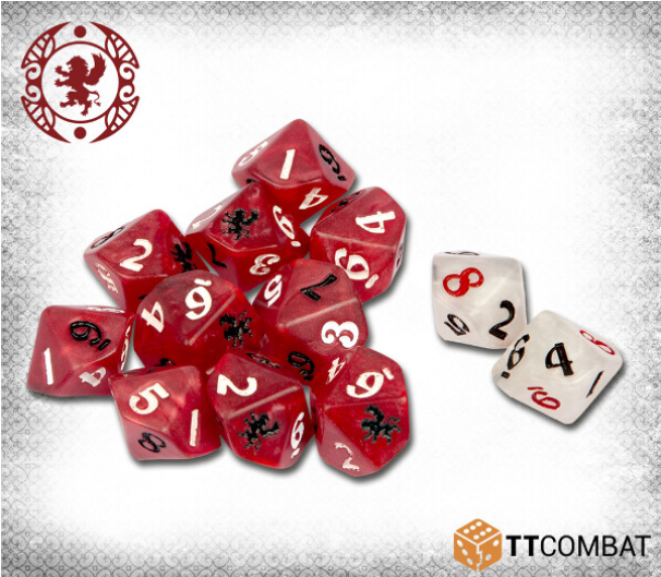 Carnevale: The Guild Dice (12)