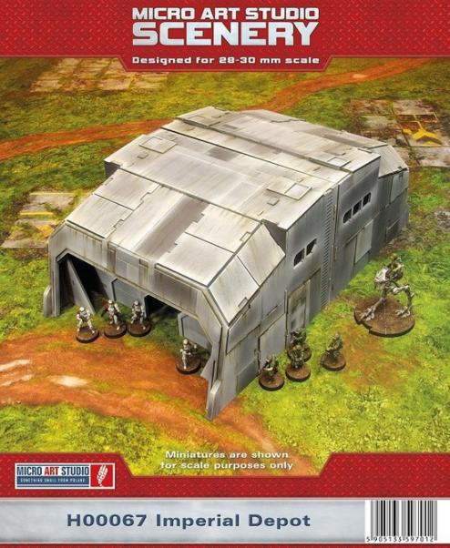 Battle Bases: (Star Wars Legion) Imperial Depot