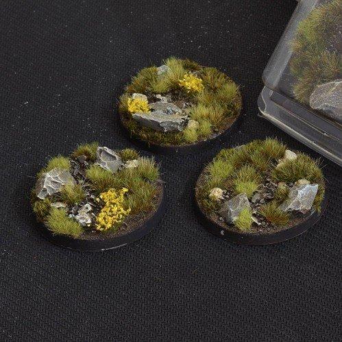 Battle Ready Bases: Highland Round 50mm (x3)