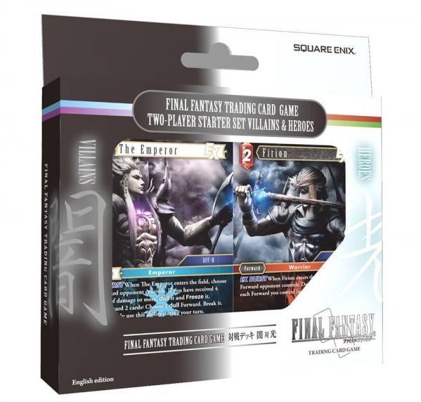 Final Fantasy TCG: Villains & Heroes Starter Set