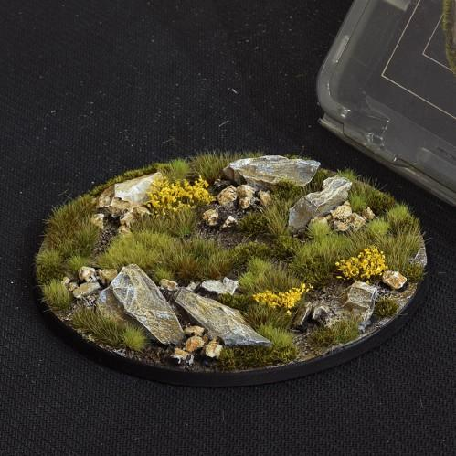Battle Ready Bases: Highland Oval 120mm (x1)