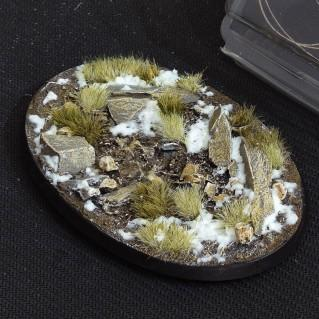 Battle Ready Bases: Winter Oval 105mm (x1)