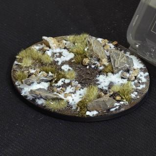 Battle Ready Bases: Winter Oval 120mm (x1)