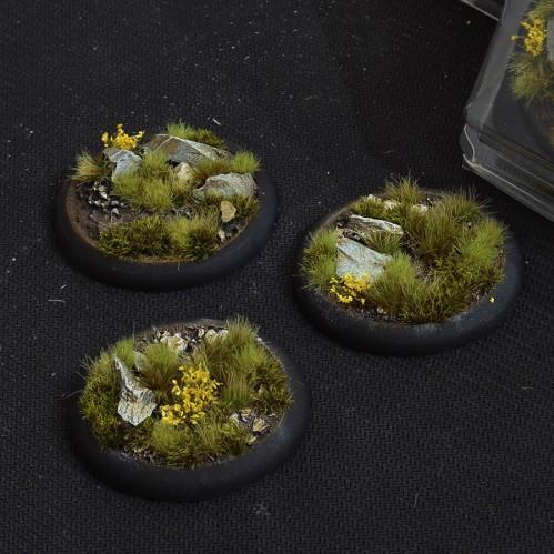 Battle Ready Bases: Highland RoundLip 50mm (x3)
