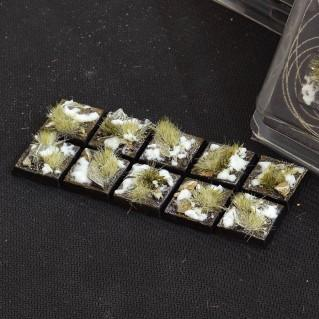 Battle Ready Bases: Winter Square 20mm (x10)