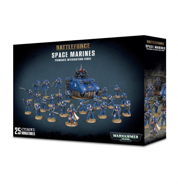 Warhammer 40K: Space Marine Primaris Interdiction Force