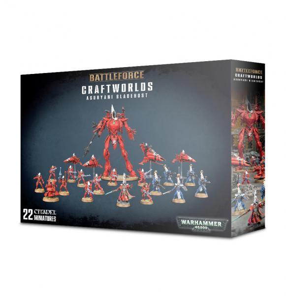 Warhammer 40K: Craftworlds Asuryani Bladehost