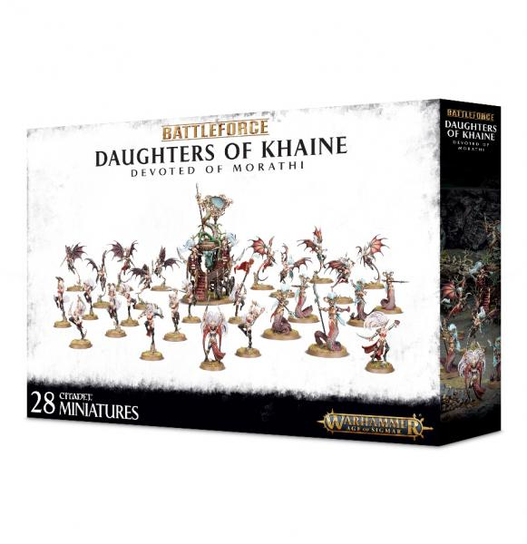 Age of Sigmar: Daughters of Khaine Devoted of Morathi