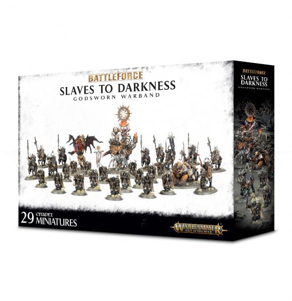 Age of Sigmar: Slaves to Darkness Godsworn Warband