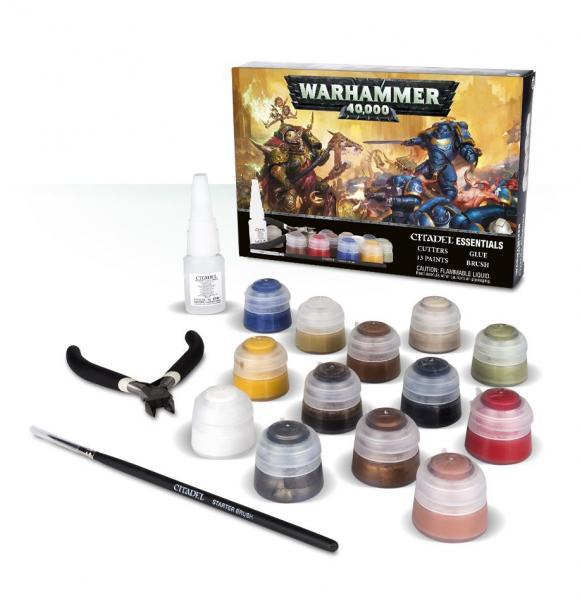 WH40K: WARHAMMER 40000 ESSENTIALS Paint Set (2018)
