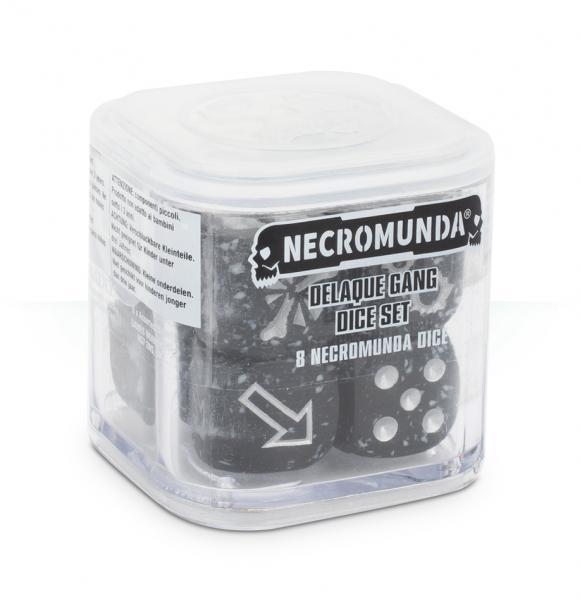 Necromunda: Delaque Gang Dice Set