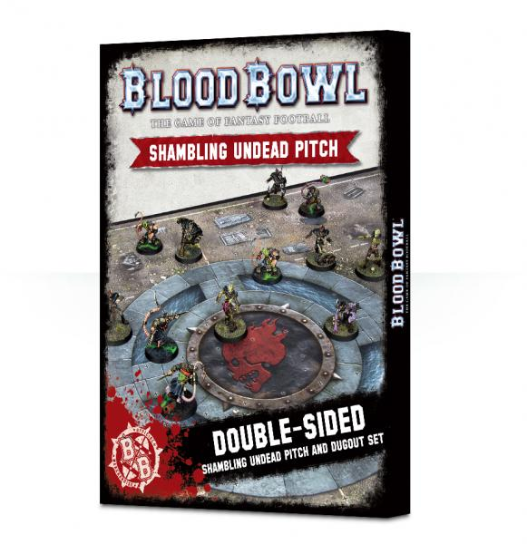 Blood Bowl: Undead Pitch & Dugout